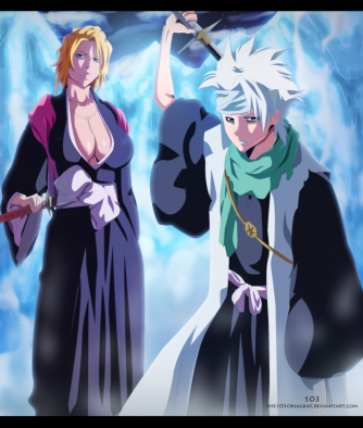 https://www.deviantart.com/the-103/art/Bleach-547-Toushiro-and-Rangiku-398485504